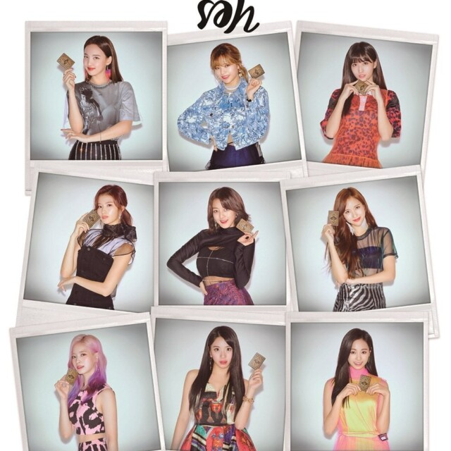 TWICE Yes or Yes ティザー画像